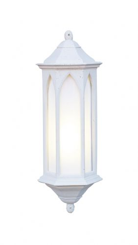 Winchester 1-light Low Energy Outdoor Wall Light Stone finish, Large WR34/LE